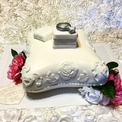 Engagement Ring Cake