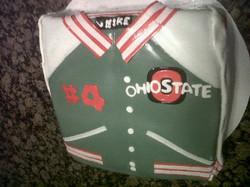 OSU Lettermans Jacket cake