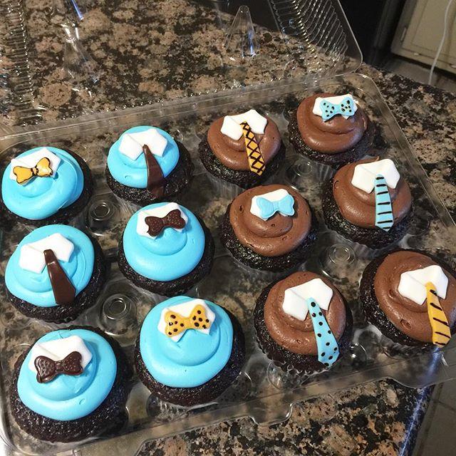 Instagram - Bow ties cupcake. Www.Specialtysweetc