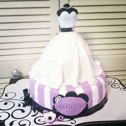 2 tiered bridal shower cake. Specialtysweetc_gmail