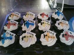 adoption cupcakes and cake
