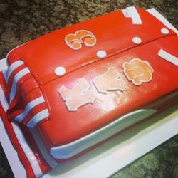 Kappa jacket cake. Www.specialtysweetcreations.vpweb
