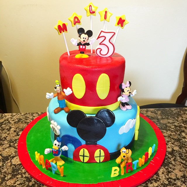 Instagram - Mickey Mouse Playhouse and Friends Cake. Www.Specialtysweetc