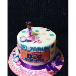 Doc McStuffin cake www.specialtysweetc