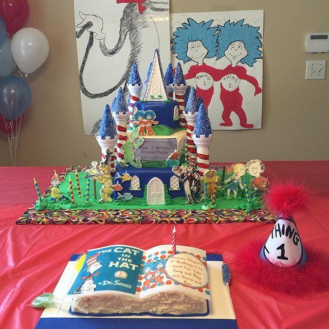 Instagram - 3 tiered Dr Suess Castle Cake. Www.Specialtysweetc