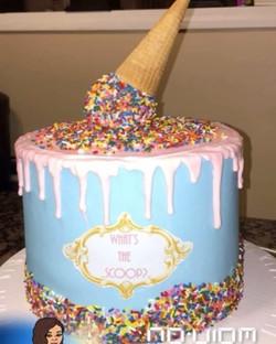 #specialtycakes #babyshowercakes