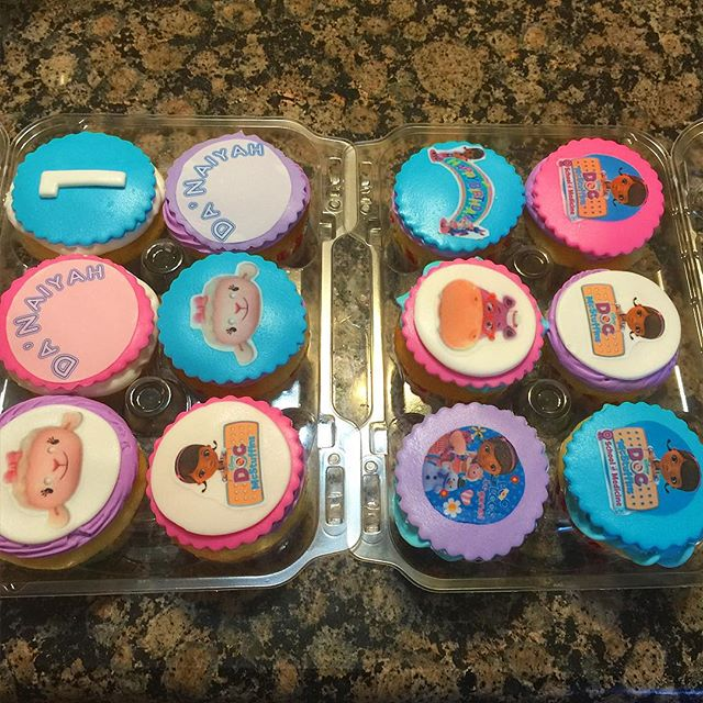 Instagram - Doc McStuffin Cupcakes. Www.Specialtysweetc
