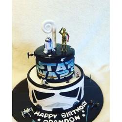 Star Wars Cake. Www.Specialtysweetc