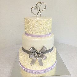 3 tiered Wedding Cake