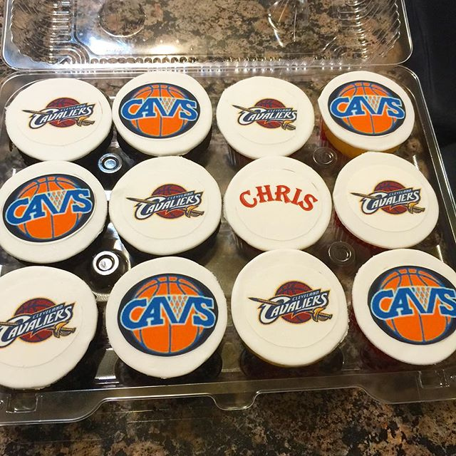 Instagram - Cleveland Cavaliers cupcakes. Www.Specialtysweetc