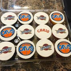 Instagram - Cleveland Cavaliers cupcakes. Www.Specialtysweetc