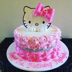 Hello Kitty Cake. Www.Specialtysweetc
