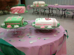 AKA graduation yearbook cakes