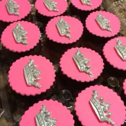 Princess crown cupcakes. Www.Specialtysweetc