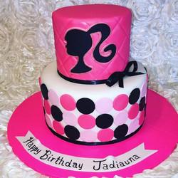 Barbie cake. Www.Specialtysweetc
