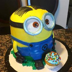 Instagram - Minion Birthday cake. Www.Specialtysweetc