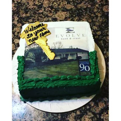 New home purchase, house Closing Cake. All Cake All Edible Works of Art. www.specialtysweetc