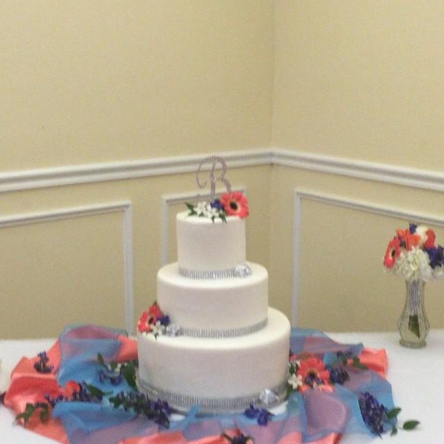 Instagram - Fondant wedding cake. Www.Specialtysweetc