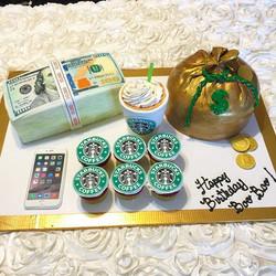 Instagram - A Girls Dream Cake. All Cake All Edible Works of Art. www.specialtysweetc
