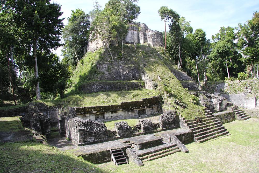 mayan archaeological site nakum