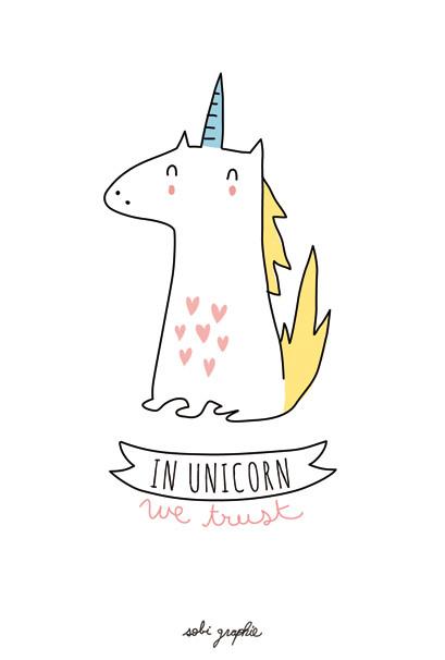 Yellow Unicorn