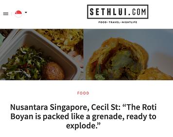 Sethliu Nusantara Singapore Frasers Towe