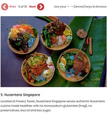 Weekender Nusantara Singapore Indonesian