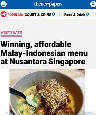 the new paper wee teck nusantara singapo
