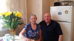 М.Е. с старшим сыном Александром