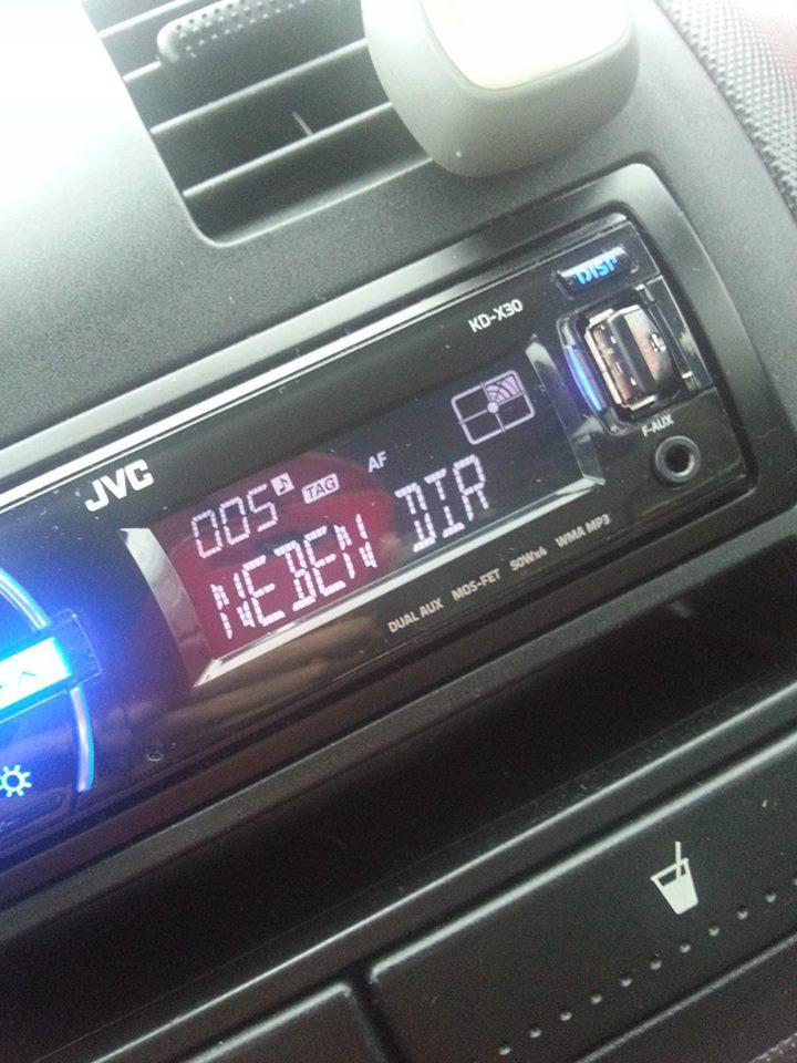 """..im Auto eines """"Fans"""" :)"""