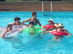 In piscina