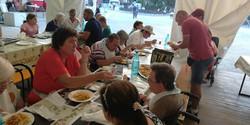 Cena a Festa a Santarcangelo di Romagna