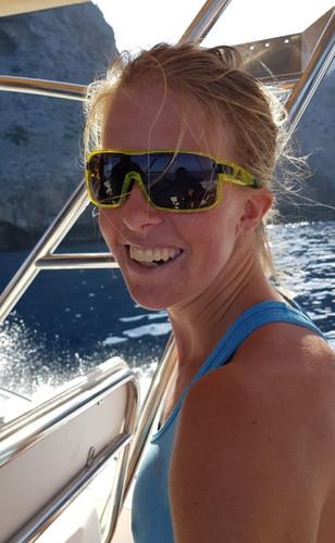 Astrid O. Slind sailing to Sa Calobra