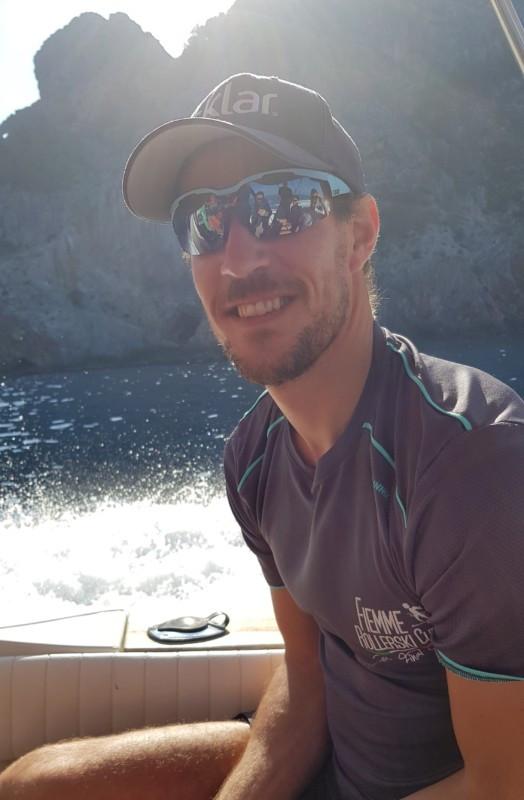 John K. Dahl Sailing to Sa Calobra