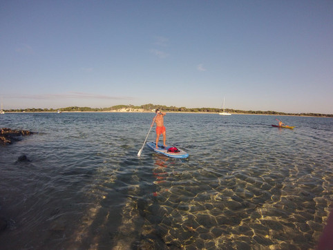 Enjoying the Mediteranean Sea on October