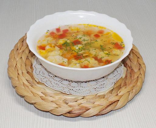Суп овощной (постный)