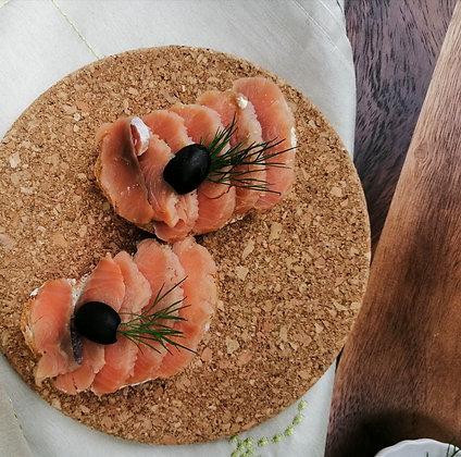 Бутерброд с кетой 40 г.