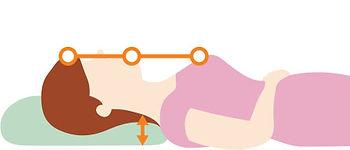 【SleepKinwood 健和醫療 - 止鼻鼾產品】Restore 護脊止鼾枕 - 如果您的體型較纖瘦,可在枕頭底部兩側減少海棉墊。