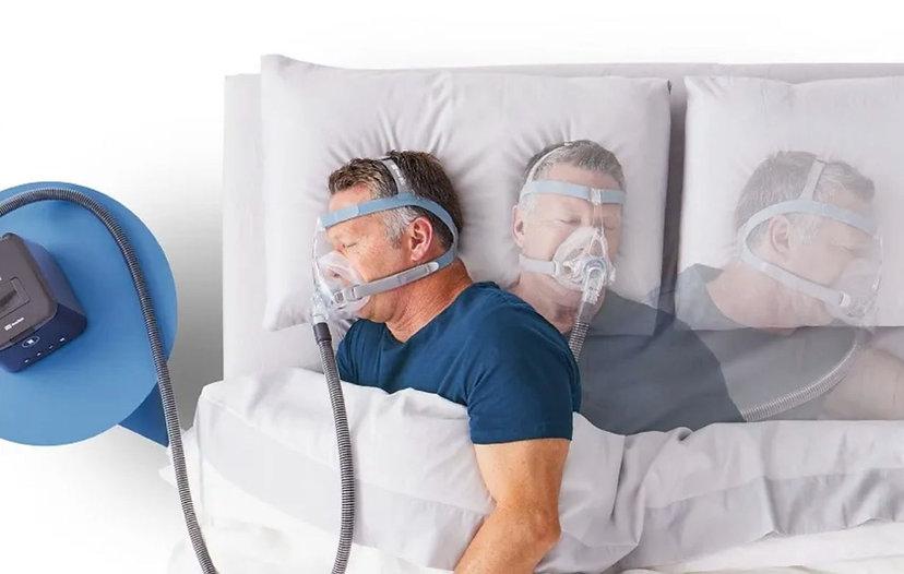 【SleepKinwood 健和醫療 - 睡眠窒息症產品】紐西蘭 Fisher & Paykel (F&P) Vitera 呼吸機口鼻全面罩 CPAP Full Face Mask - 無礙睡姿轉換,無懼鼻罩移位