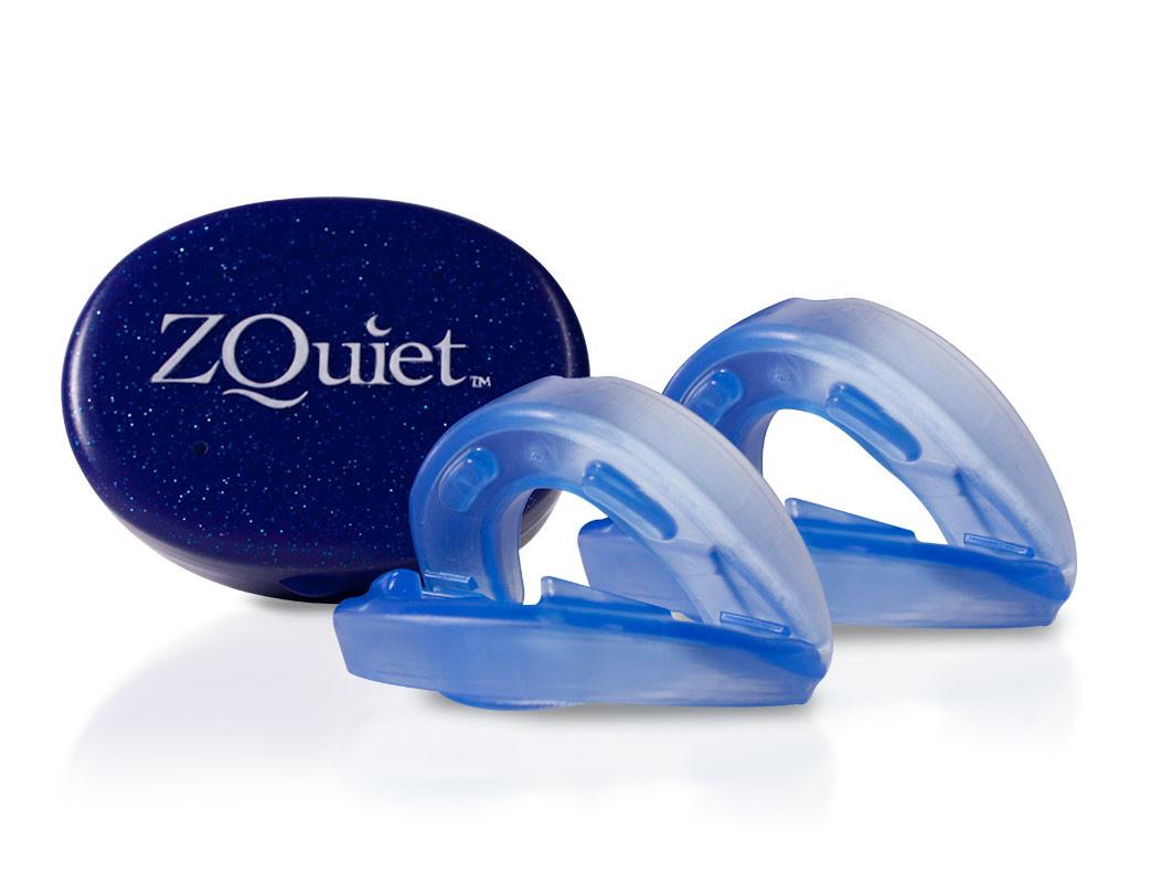 【SleepKinwood 健和醫療 - 止鼻鼾產品】ZQuiet 止鼻鼾牙膠 - 一盒兩個尺寸