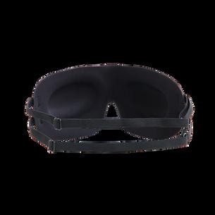 【SleepKinwood 健和醫療 - 失眠產品】MACK'S 3D 立體剪裁安睡眼罩 - 黑色 (背面) - 雙頭帶