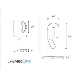 【SleepKinwood 健和醫療 - 醫學治療枕】MedCline 肩膊疼痛治療組合 - 尺寸指南