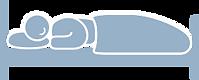 【SleepKinwood 健和醫療 - 止鼻鼾產品】Restore 護脊止鼾枕 - 理論上,鼻鼾在仰睡時比側睡時嚴重,因為側睡可以減低地心吸力的影響,減少咽喉肌肉因鬆弛下墮而造成的呼吸道阻塞問題。