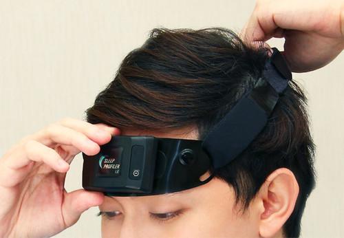 【SleepKinwood 健和醫療 - 家中多導睡眠測試 (PSG)】睡眠測試期間需要佩戴的腦電波感應器