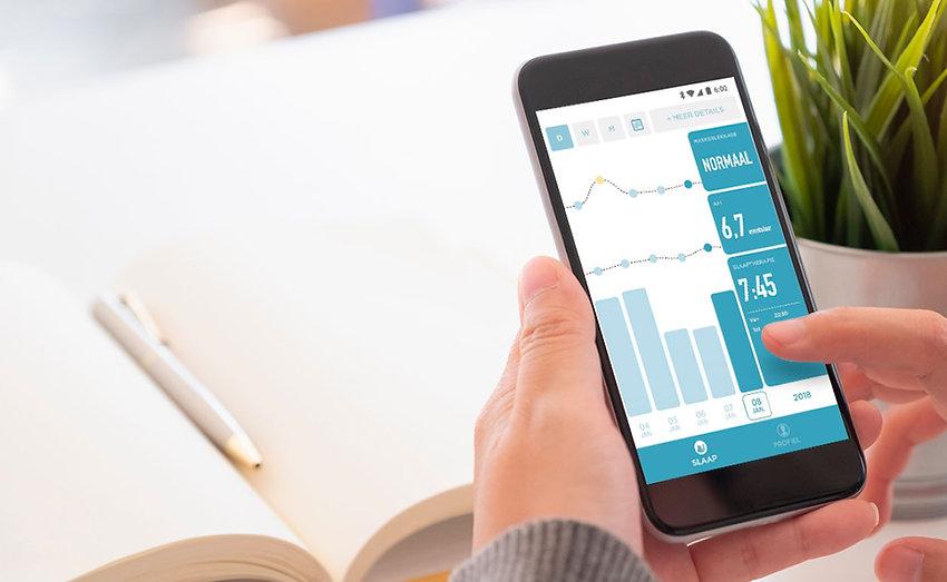 【SleepKinwood 健和醫療 - 睡眠窒息症產品】紐西蘭 Fisher & Paykel (F&P) SleepStyle 家用智能呼吸機 - 配備手機應用程式,治療數據一目了然,並為用家適時提供用機建議及改善方法。