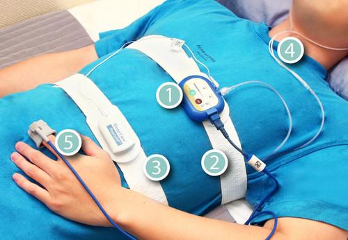 【SleepKinwood 健和醫療 - 家中睡眠窒息症測試 (HST)】在測試期間需要佩戴的睡眠監測儀
