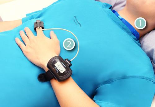 【SleepKinwood 健和醫療 - 睡眠窒息症治療成效測試】睡眠期間需要佩戴的睡眠監測儀