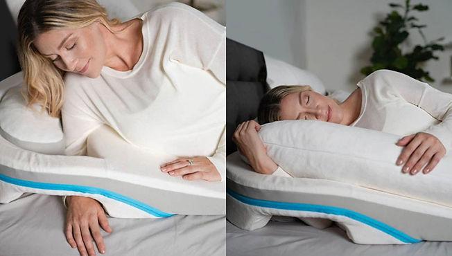 【SleepKinwood 健和醫療 - 醫學治療枕】MedCline 肩膊疼痛治療組合 - 兩種使用方式,舒適為本