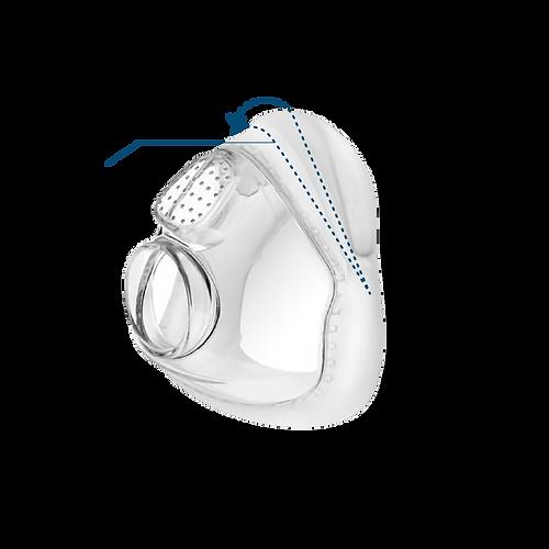 【SleepKinwood 健和醫療 - 睡眠窒息症產品】紐西蘭 Fisher & Paykel (F&P) Vitera 呼吸機口鼻全面罩 CPAP Full Face Mask - RollFit XT 動態軟墊