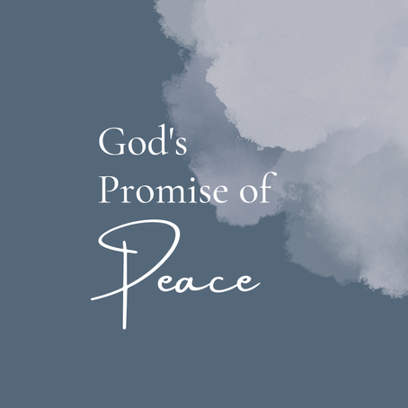 God's Promise of Peace